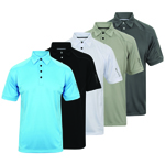 IGTS-1648 Island Green Men's Top Stitch Polo